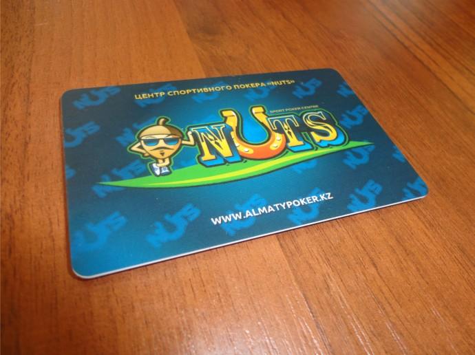 Изготовление и производство игровых пластиковых карт